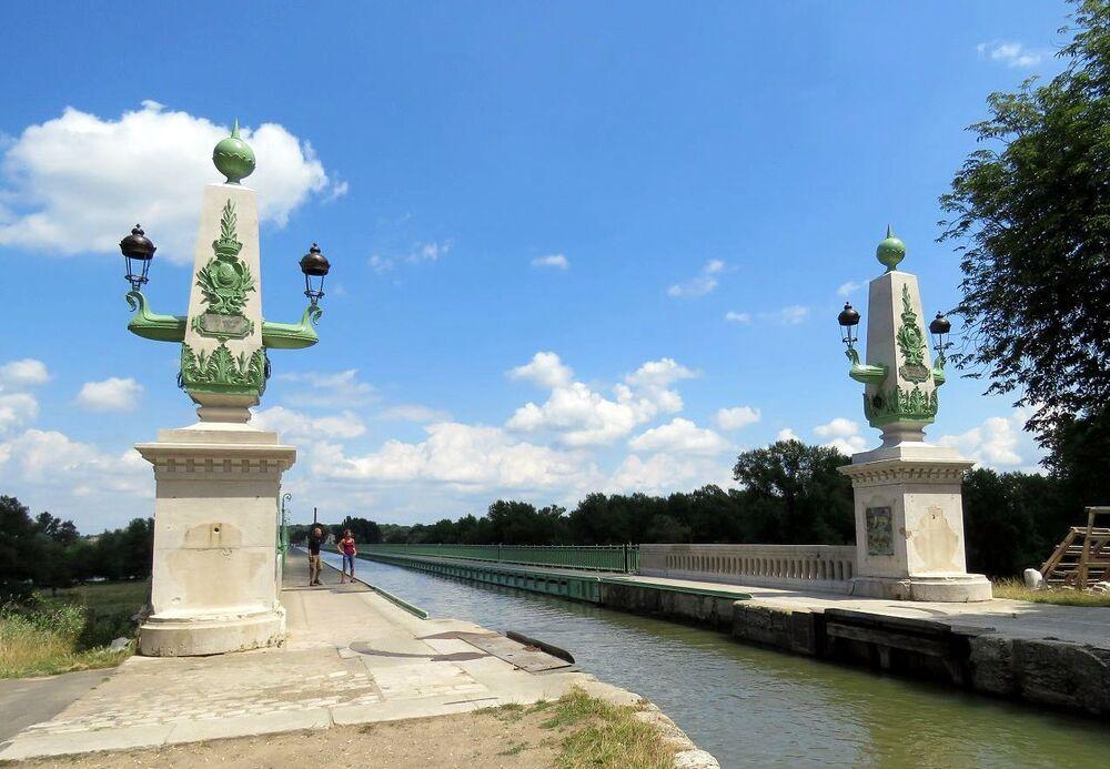 Briare et le pont canal -1