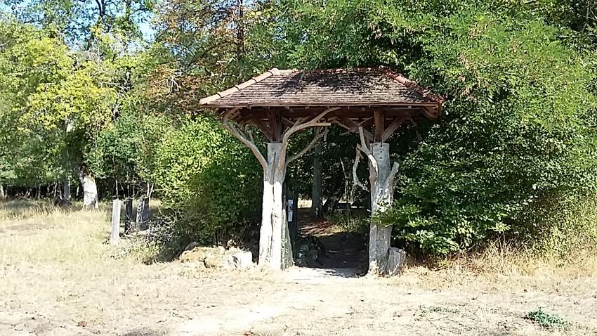 l'hermitage le cadran solaire - suite et fin forêt de Fontainebleau