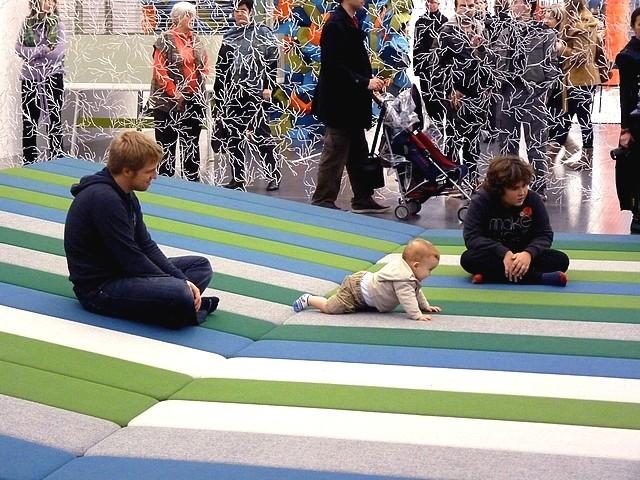 Textile fields Bouroullec Centre Pompidou-Metz 3 Marc de Me
