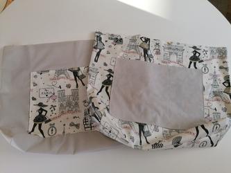 Tuto : Un sac cabas réversible