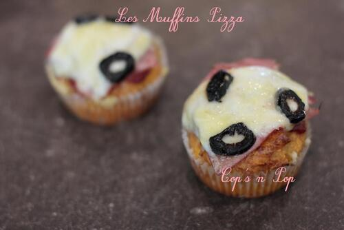 les muffins pizza