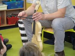 Découverte d'un instrument de musique: le violon