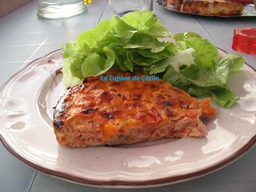 Flan de thon à la provençale