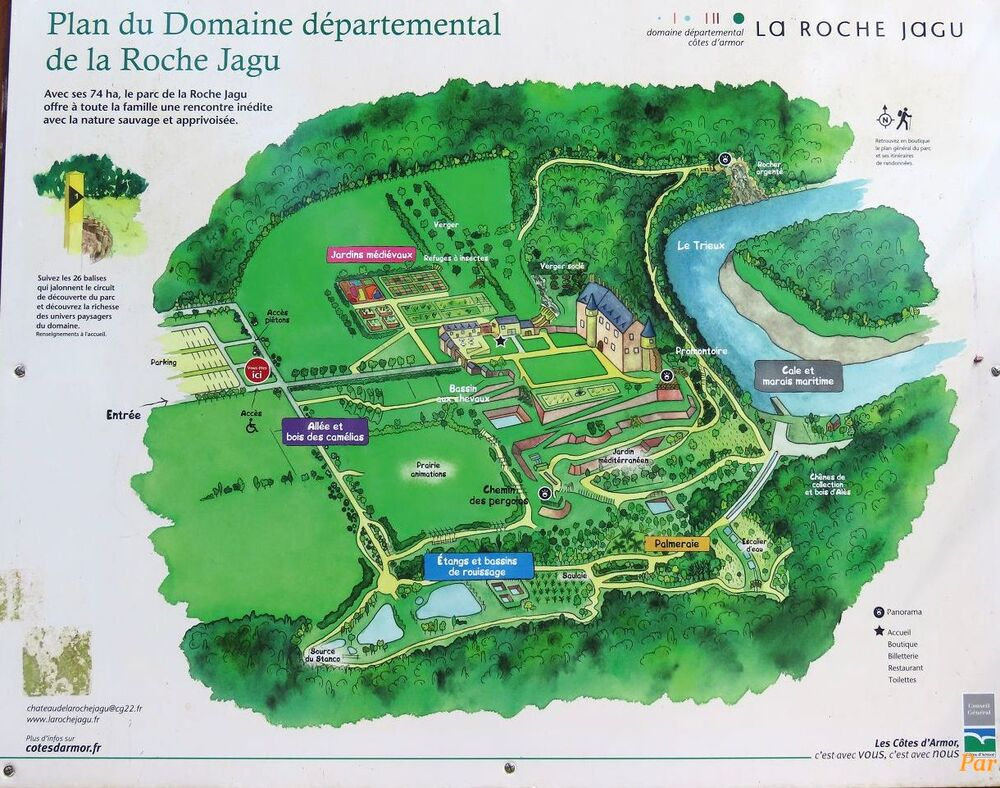 le Chateau de Roche Jagu