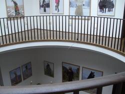 Musée basque, l'intérieur