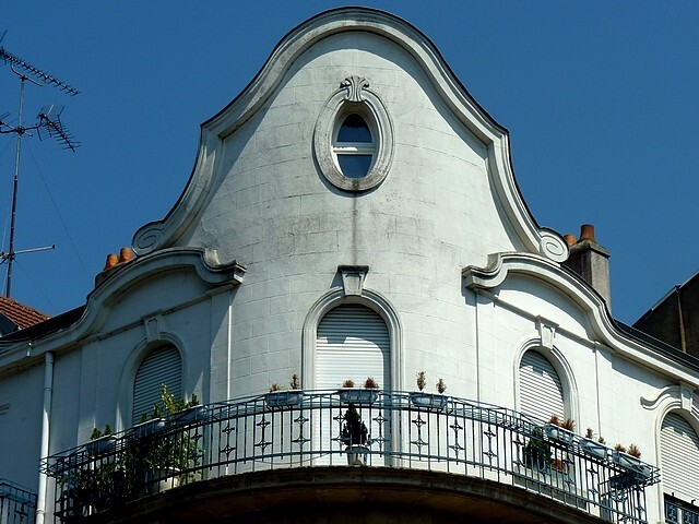 Les frontons de Metz 55 Marc de Metz 2012