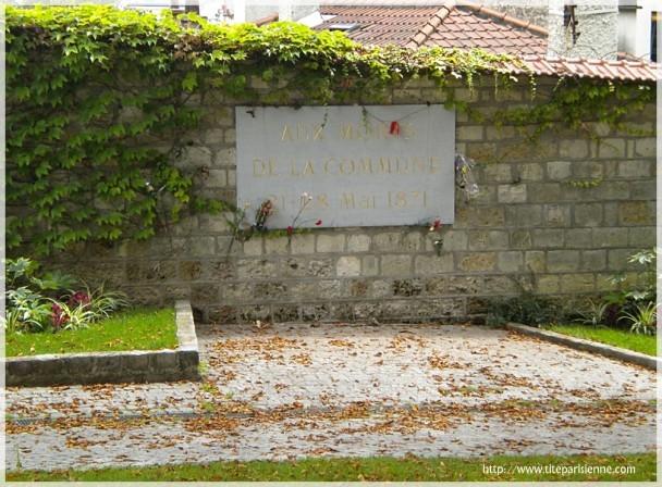 Mur des Fédérés Père Lachaise 2