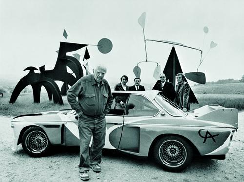 Automobiles et artistes