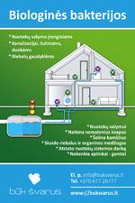 Biopreparatai nuotekoms - kanalizacijos bakterijos