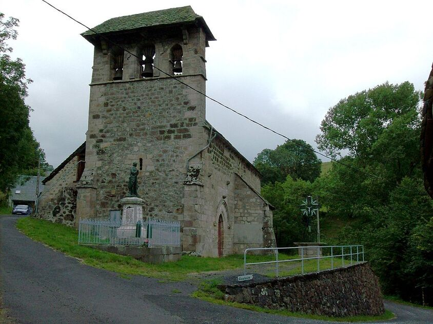 France, Cantal, Vic-sur-Cère, Saint-Clément.jpg