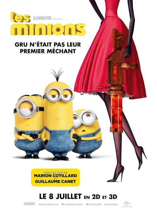 BOX OFFICE FRANCE DU 8 JUILLET 2015 AU 14 JUILLET 2015