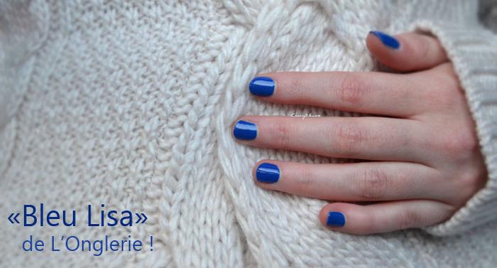 Bleu Lisa de L'Onglerie