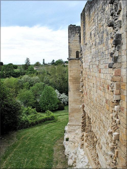 Photos des douves du château de Rauzan (Gironde)