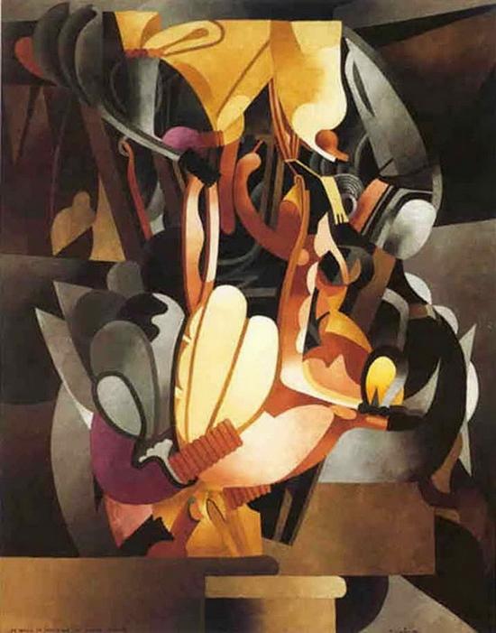 Francis Picabia, Je revois en souvenir ma chère Udnie, 1913-1914