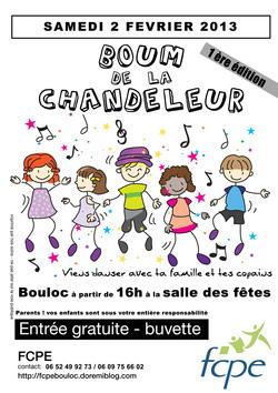 * BOUM de la Chandeleur : sam. 2 fév 2013 de 16h à 21h - salle des fêtes Bouloc
