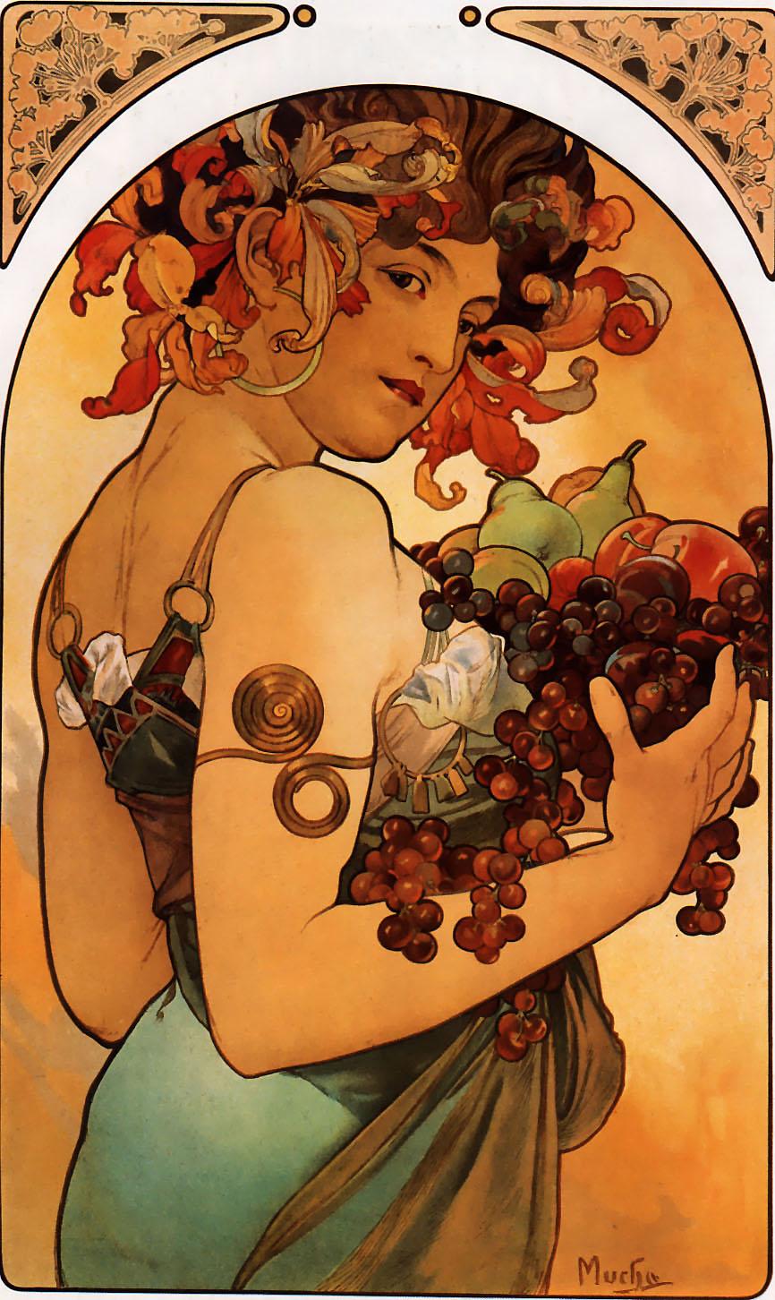 Alfons_Mucha_-_Fruit