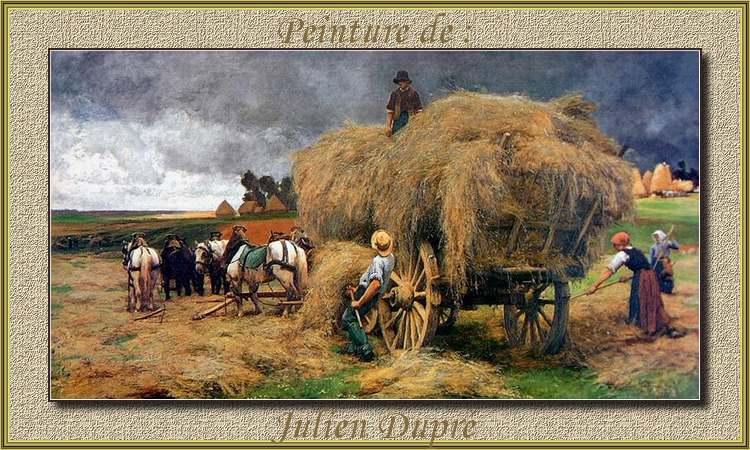 Peinture de : Julien Dupré