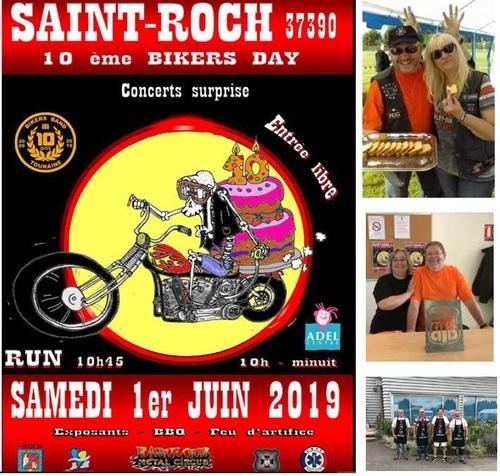 Expositions de bijoux à la bikers day de saint roch le 1er juin 2019