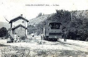 Vieu-en-Valromey ( gare )