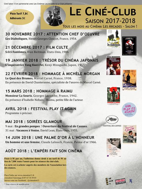 Programme 2017 - 2018