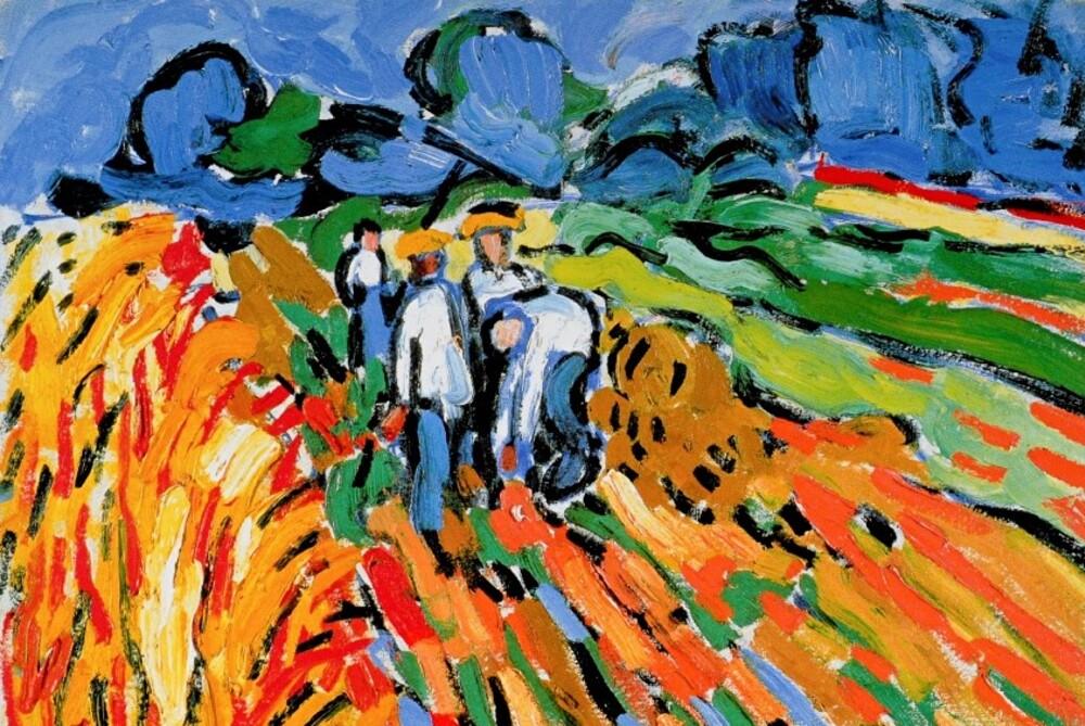 De vlaminck 6 /                        1905-les ramasseurs de pommes de terre