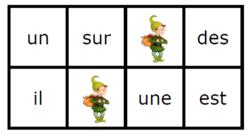 loto des mots-outils