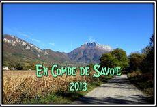 Dans la Combe de Savoie