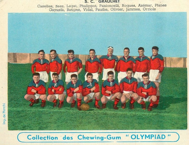 - Equipes de RUGBY -1910-1970