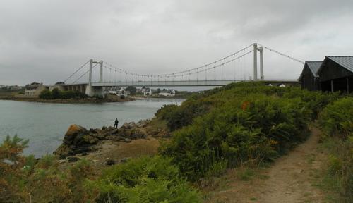 Le pont Lorois et Port-Niscop