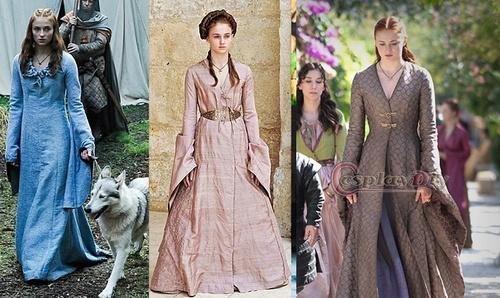 Les robes de Sansa en vente sur Aliexpress