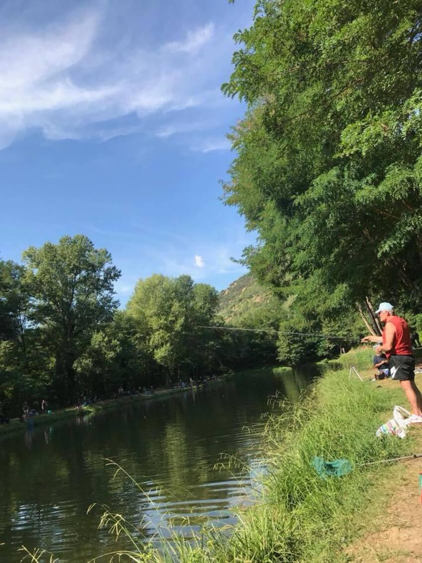Une journée à la pêche du côté d'Olette