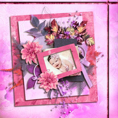My Sweet PInk Autumn  de Kastagnette et Didine