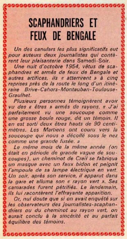 - Incendie 31 janvier 1967