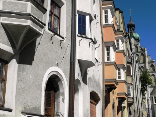 Hall am Tyrol, en Autriçe (photos)