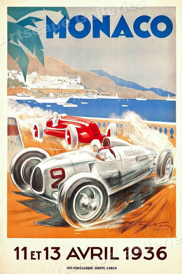 GP automobile de Monaco ( 1929-1937 )