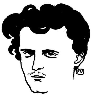Lautréamont (portrait par Félix Vallotton)