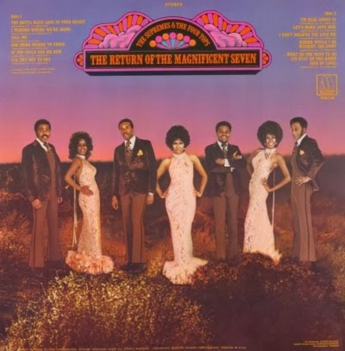 "The Supremes & The Four Tops : Album "" The Return Of The Magnificent Seven "" Motown Records MS 736 [ US ]"