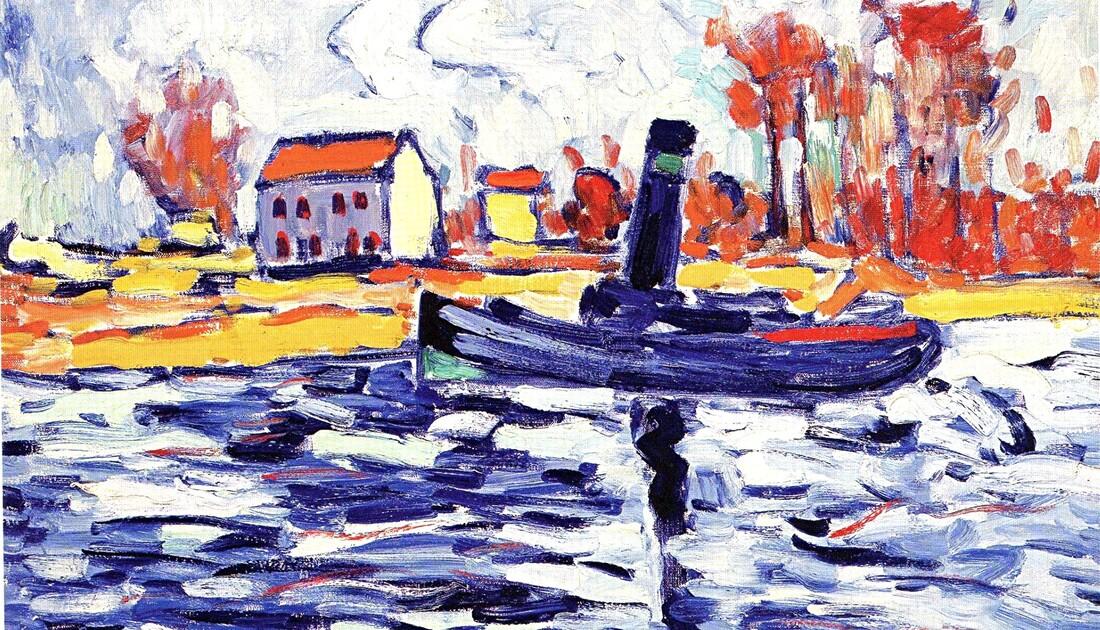 De Vlaminck 5 /   1905- le pont de Chatou