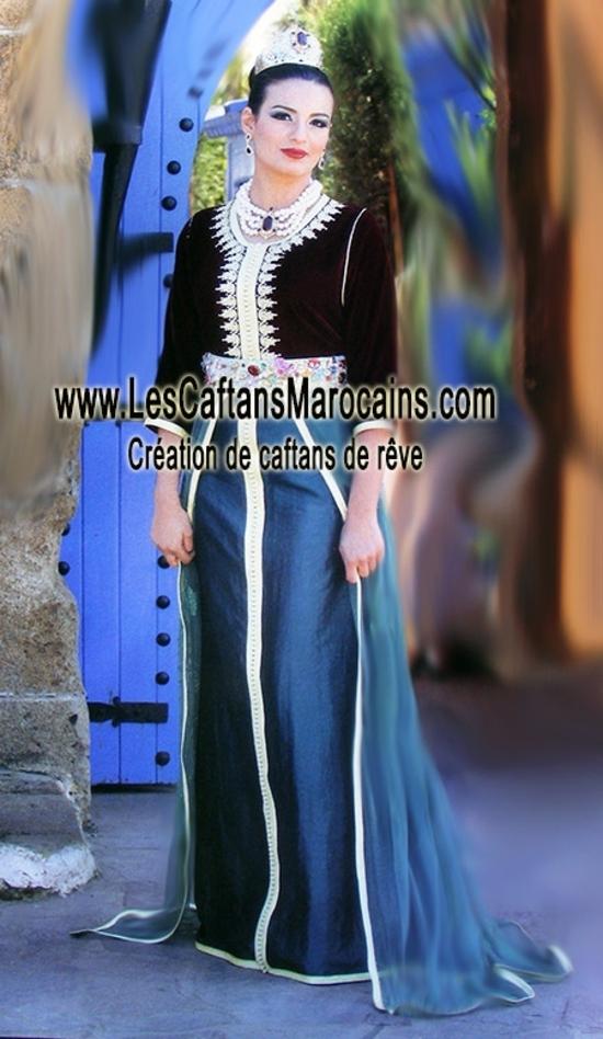Takchita marocaine en vente de la collection 2016 KAF S1125
