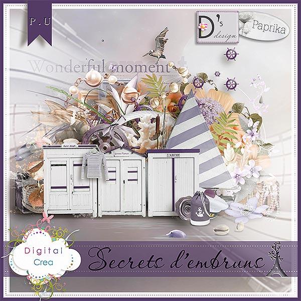 """""""Secrets d'Embruns"""" by Paprika et Doudou's D"""