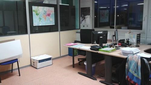 Changement de bureau...