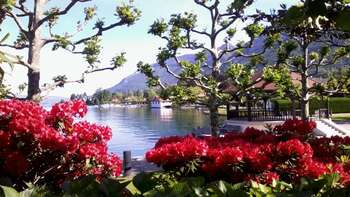 Menthon et le lac