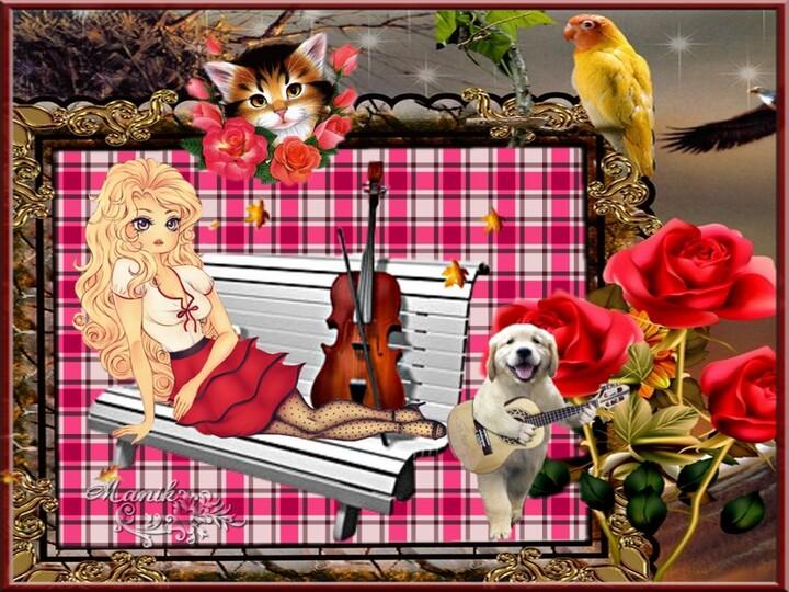 Rouge la rose !!