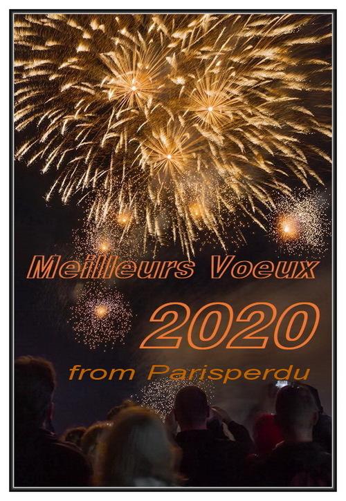 Meilleurs vœux pour 2020.