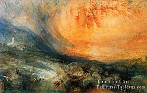 4-Goldau-Romantique-Paysage-Joseph-Mallord-William-Turner