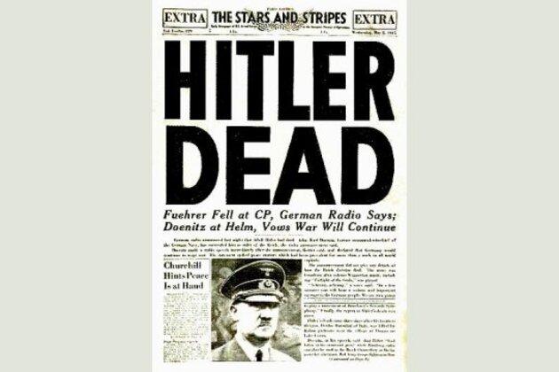 Suicide d'Adolf Hitler