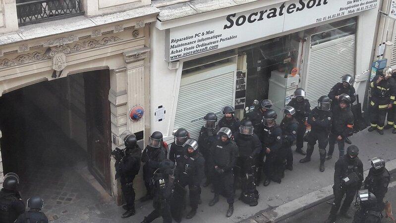 Paris : une prise d'otages est en cours dans une société informatique du 10ème arrondissement