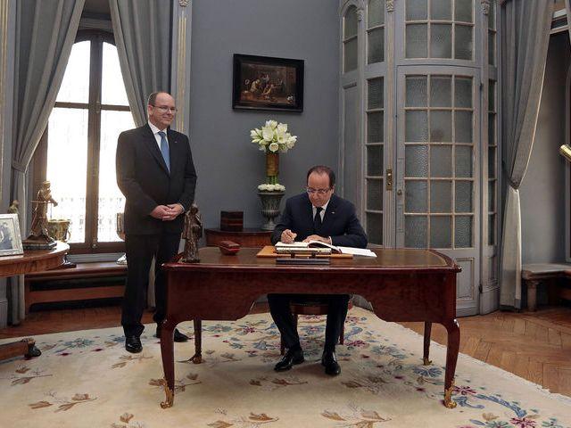 Le président français à Monaco