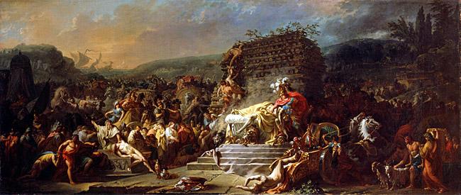 Les funérailles de Patrocle