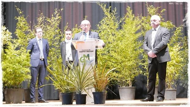 Nouvelle Commune: Voeux 2017 du maire de Guipry-Messac